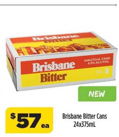 Liquorland Brisbane Bitter Cans