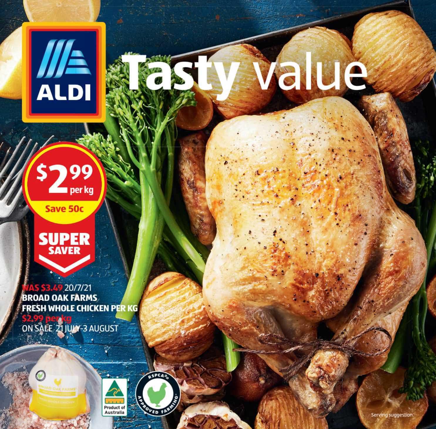 ALDI Broad Oak Farms Fresh Whole Chicken
