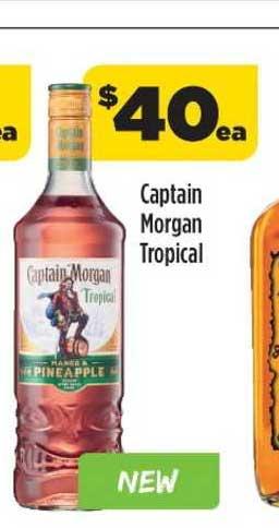 Liquorland Captain Morgan Tropical