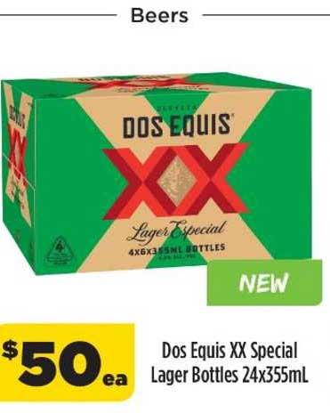 Liquorland Dos Equis Xx Special Lager