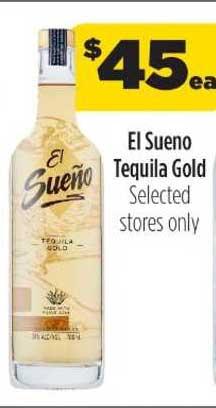 Liquorland El Sueno Tequila Gold