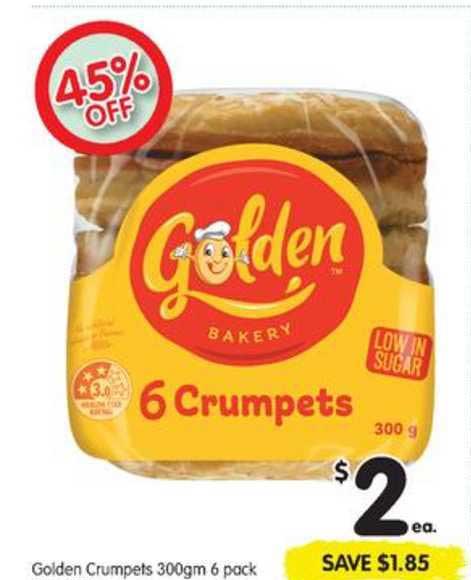 SPAR Golden Crumpets