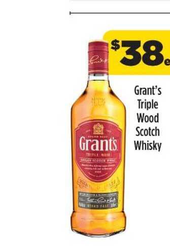 Liquorland Grant's Triple Wood Scotch Whisky
