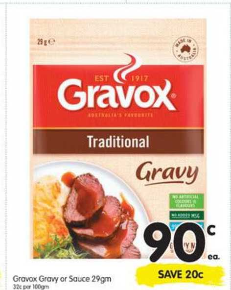 SPAR Gravox Gravy Or Sauce
