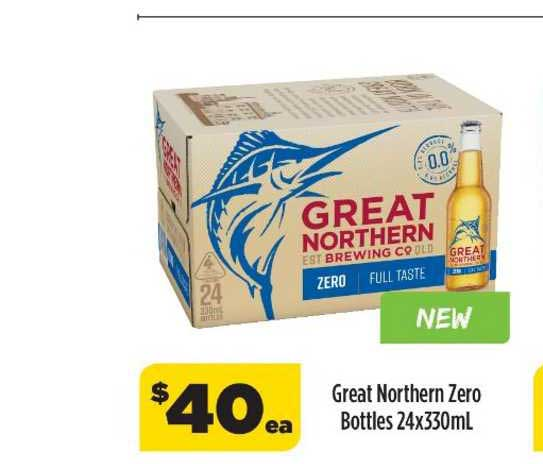 Liquorland Great Nothern Zero