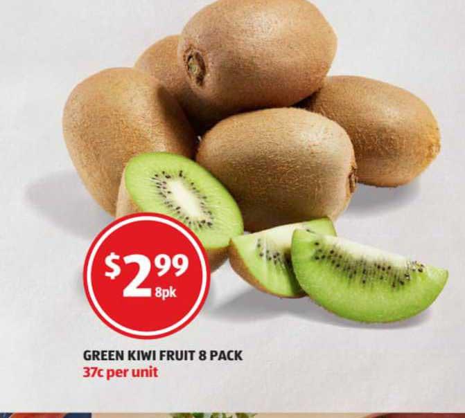 ALDI Green Kiwi Fruit 8 Pack