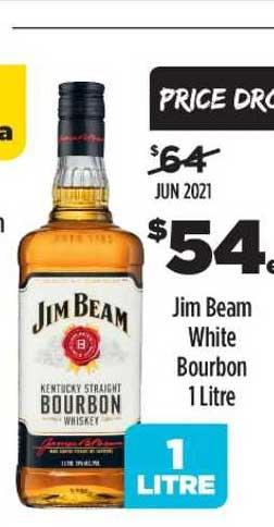 Liquorland Jim Beam White Bourbon