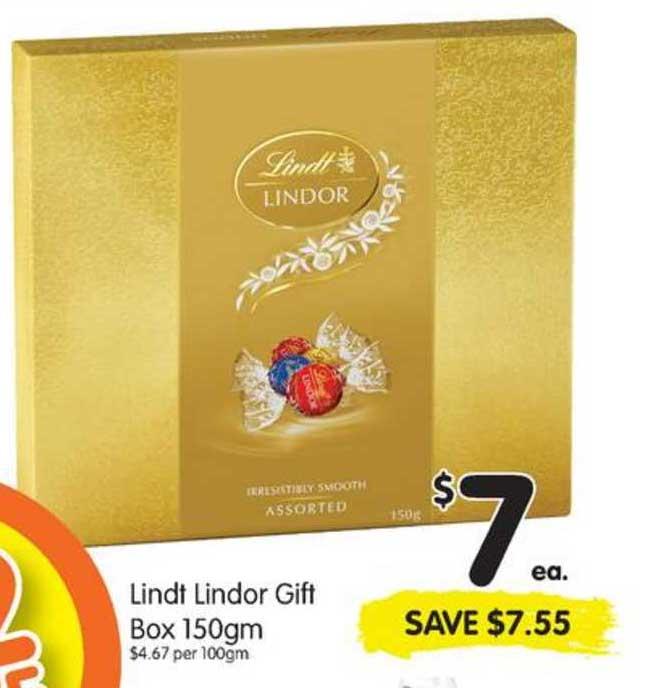 SPAR Lindt Lindor Gift Box