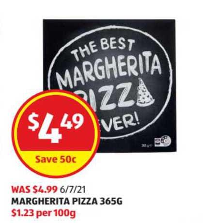ALDI Margherita Pizza