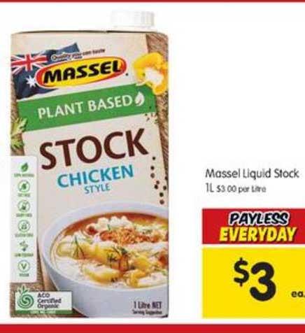 SPAR Massel Liquid Stock
