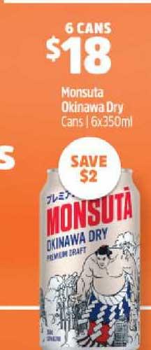 BWS Monsuta Okinawa Dry