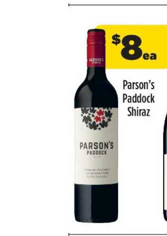 Liquorland Parson's Paddock Shiraz