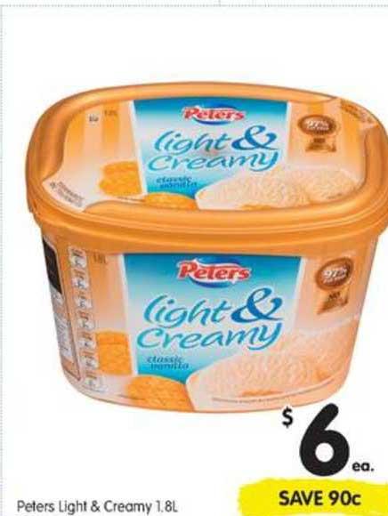 SPAR Peters Light & Creamy
