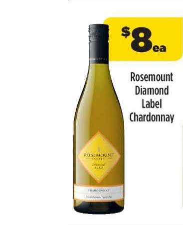 Liquorland Rosemount Diamond Label Chardonnay