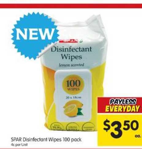 SPAR Spar Disinfectant Wipes