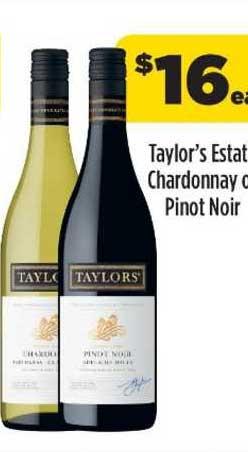 Liquorland Taylor's Estate Chardonnay Ou Pinot Noir