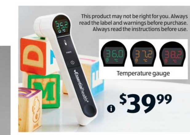 ALDI Temperature Gauge