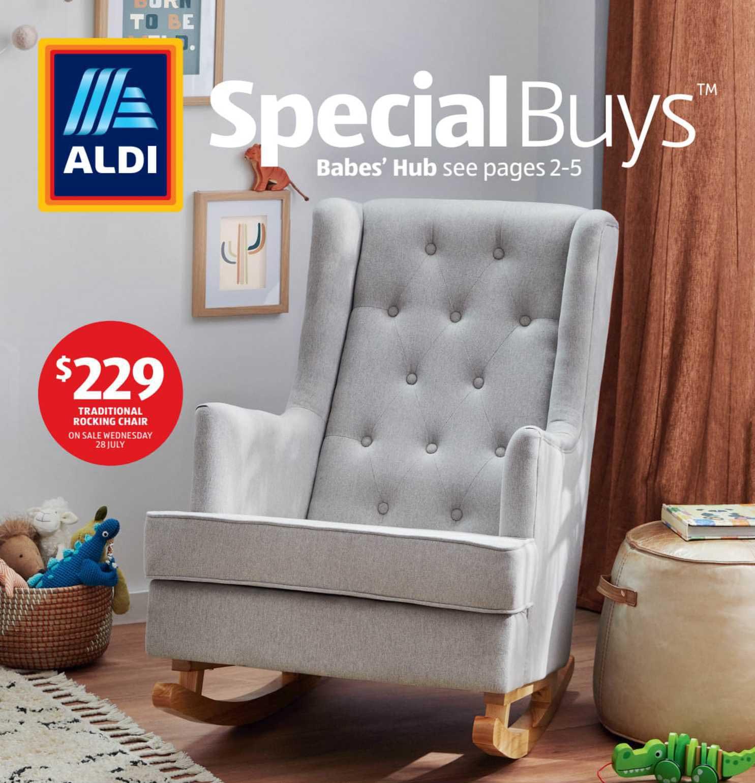 ALDI Tradicional Rocking Chair