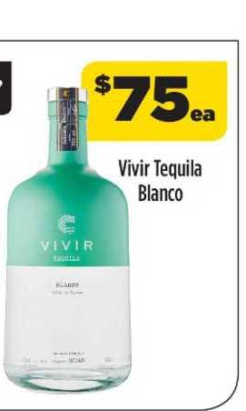 Liquorland Vivir Tequila Blanco