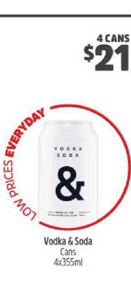 BWS Vodka & Soda