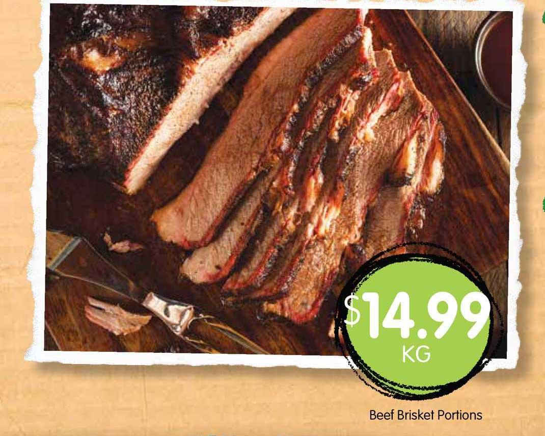 Spudshed Beef Brisket Portions