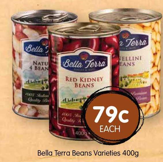 Spudshed Bella Terra Beans Varieties 400g