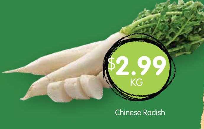 Spudshed Chinese Radish