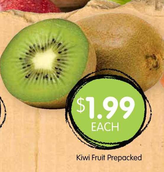 Spudshed Kiwi Fruit Prepacked