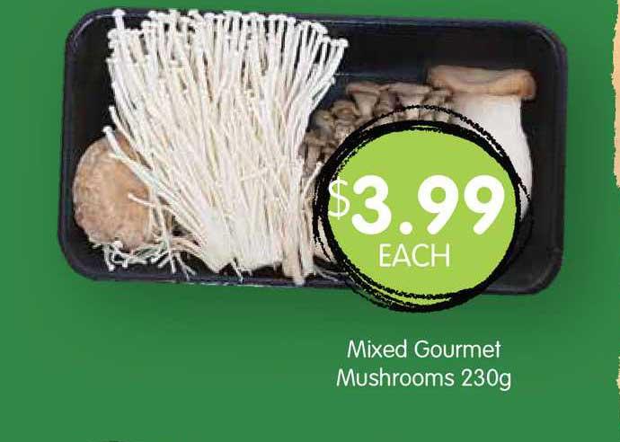 Spudshed Mixed Gourmet Mushrooms 230g
