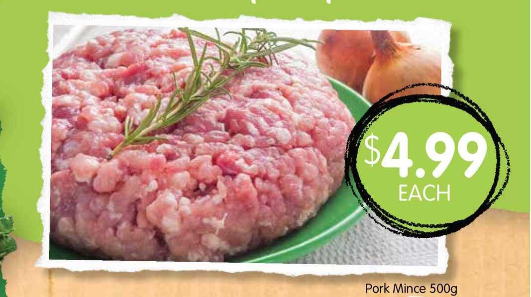 Spudshed Pork Mince 500g