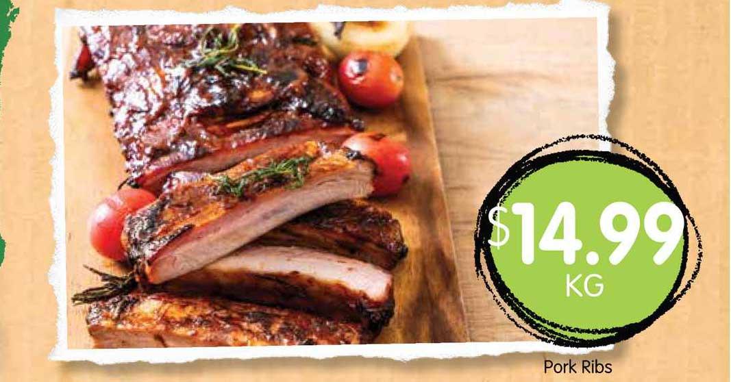 Spudshed Pork Ribs