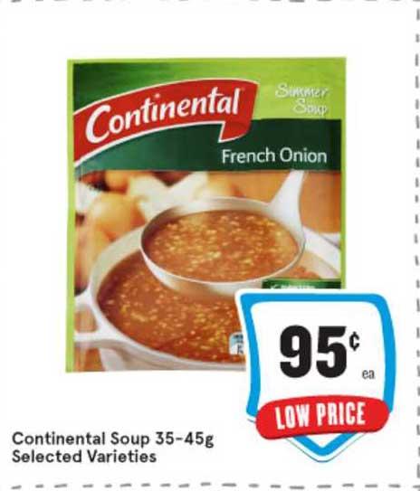 IGA Continental Soup 35-45g