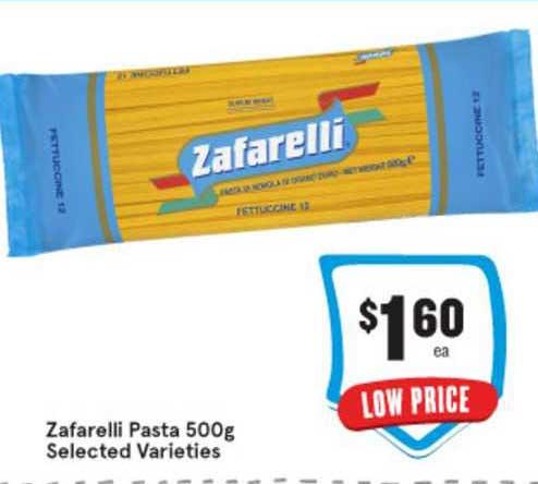 IGA Zafarelli Pasta 500g