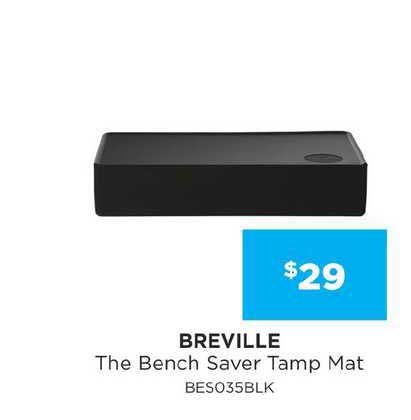 Bing Lee Breville The Bench Saver Tamp Mat