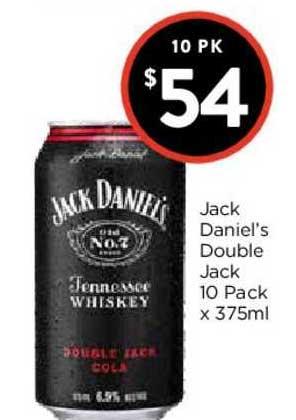 FoodWorks Jack Daniel's Double Jack