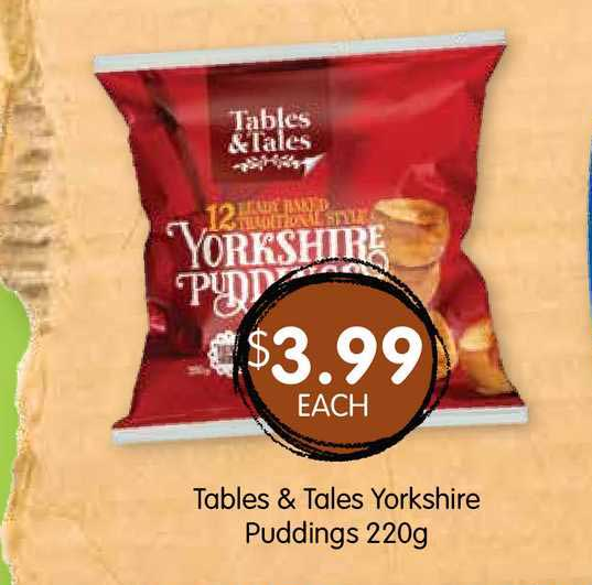 Spudshed Tables & Tales Yorkshire Puddings