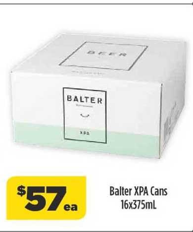 Liquorland Balter Xpa Cans