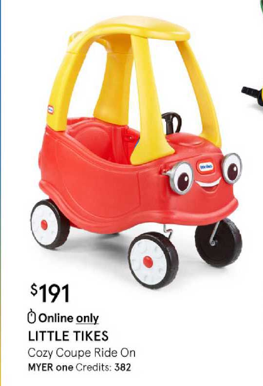 Myer Little Tikes Cozy Coupe Ride On