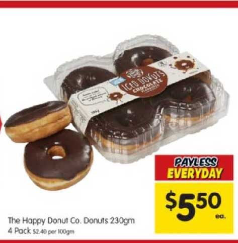SPAR The Happy Donut Co. Donuts