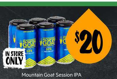 First Choice Liquor Mountain Goat Session Ipa