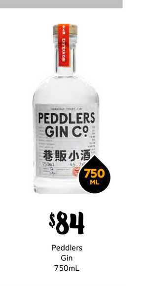 First Choice Liquor Peddlers Gin 750ml