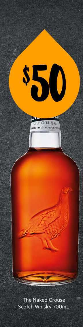 First Choice Liquor The Naked Grouse Scotch Whisky 700ml
