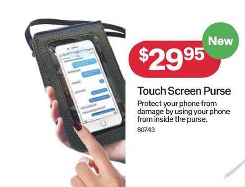 Australia Post Touch Screen Purse