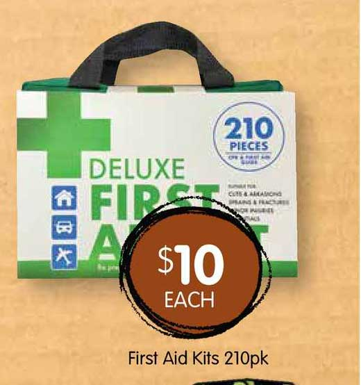 Spudshed First Aid Kits