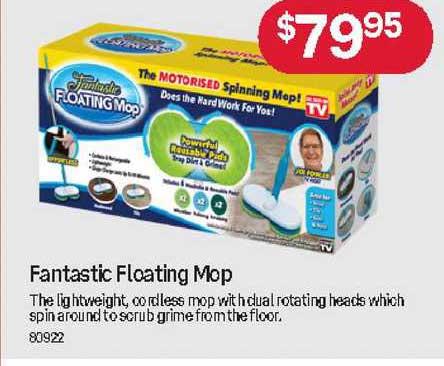 Australia Post Fantastic Floating Mop