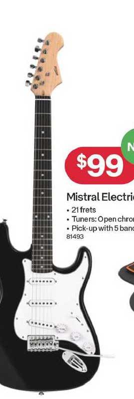 Australia Post Mistral Electronic Guitar