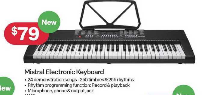 Australia Post Mistral Electronic Keyboard