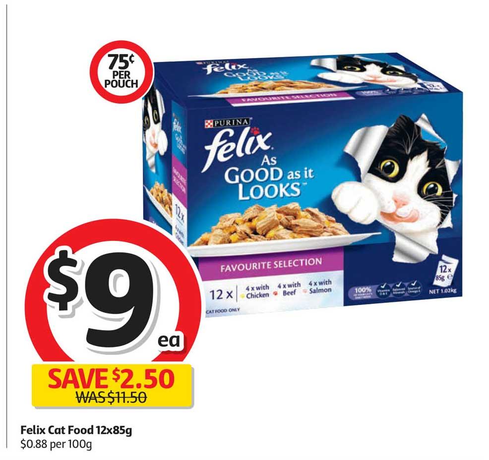 Coles Felix Cat Food