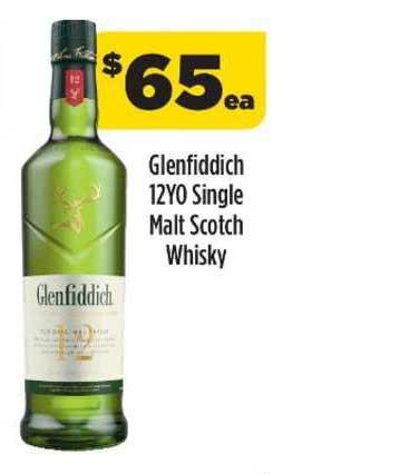 Liquorland Glenfiddich 12yo Single Malt Scotch Whisky