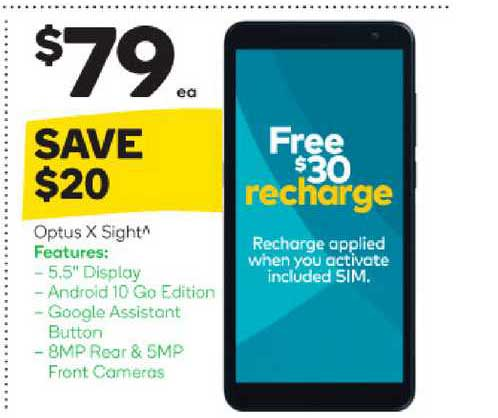 Woolworths Optus X Sight
